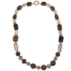 Pearlz Ocean Tiger's Eye 24-inch Necklace