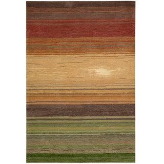 Nourison Hand-tufted Contours Harvest Rug (8' x 10'6)