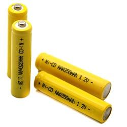 Solar Light AAA Ni-CD Rechargable Batteries (Pack of 10)