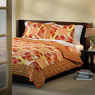 Red/Orange King Duvet Cover (India)