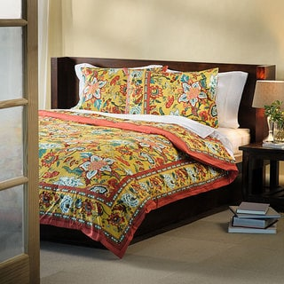 Country Style King-size Duvet Cover (India)