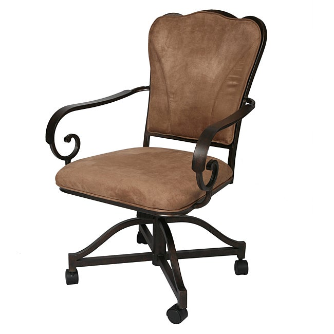 dining caster chair overstock shopping great deals on dining