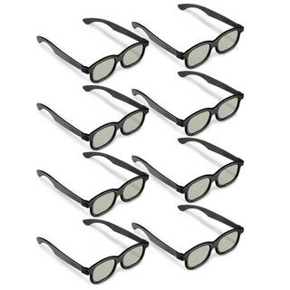 Black 3D Glasses (Pack of 8)