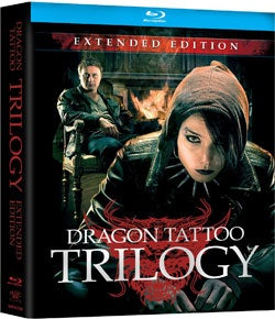 Dragon Tattoo Trilogy: Extended Edition (Blu-ray Disc)