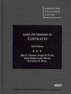 Cases and Problems on Contracts (Hardcover)