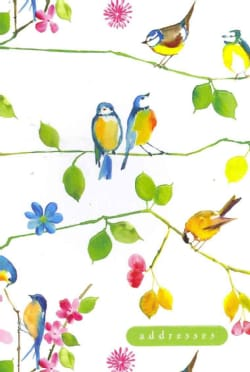 Watercolor Birds Address Book (Address book)