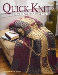 Quick Knit Textured Afghans (Paperback)
