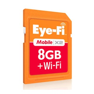 Eye-Fi Mobile X2 EYE-FI-8MD 8 GB Secure Digital High Capacity (SDHC)