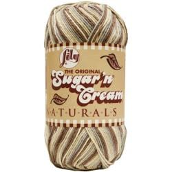 Lily Sugar'n Cream Big Ball Naturals Sonoma Print Ombre Yarn