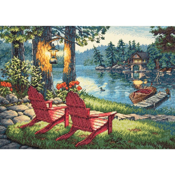 Gold Collection Twilight's Calm Counted Cross Stitch Kit