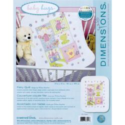 Dimensions 'Baby Hugs Fairy Quilt' Stamped Cross Stitch Kit