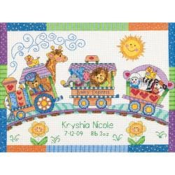 Dimensions Baby Hugs Birth Record Cross Stitch Kit