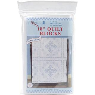Jack Dempsey Americana Quilt Blocks Cross Stitch Kit