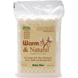 The Warm Company Warm & Natural Crib Size Cotton Batting