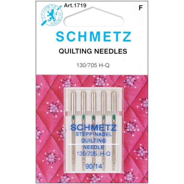 Schmetz Five-pack Tapered-design Quilt Machine Metal Needles
