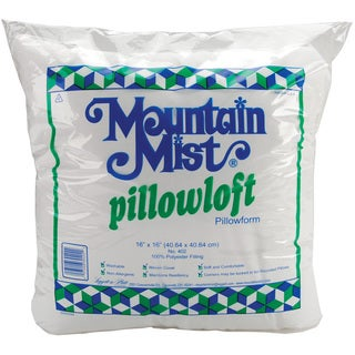 Mountain Mist Polyester Pillowloft Craft Pillowform (16 inches Square)