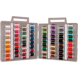 Sulky Size 12 Cotton Slimline Dream Assortment Thread Spools (Case of 64)