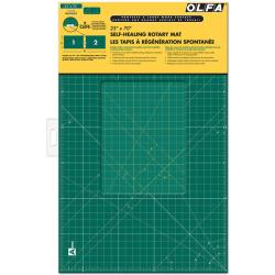 Olfa Gridded Cutting Mat Set-Clipped