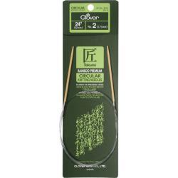 Clover Bamboo Size 2 24-Inch Circular Knitting Needles