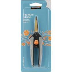 Fiskars Softouch Spring-Action Titanium Nitride Scissors