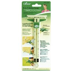Clover 5-in-1 Sliding Gauge by Nancy Zieman