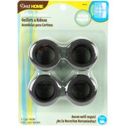 Dritz Matte Black 1-inch Curtain Grommets (Pack of 8)
