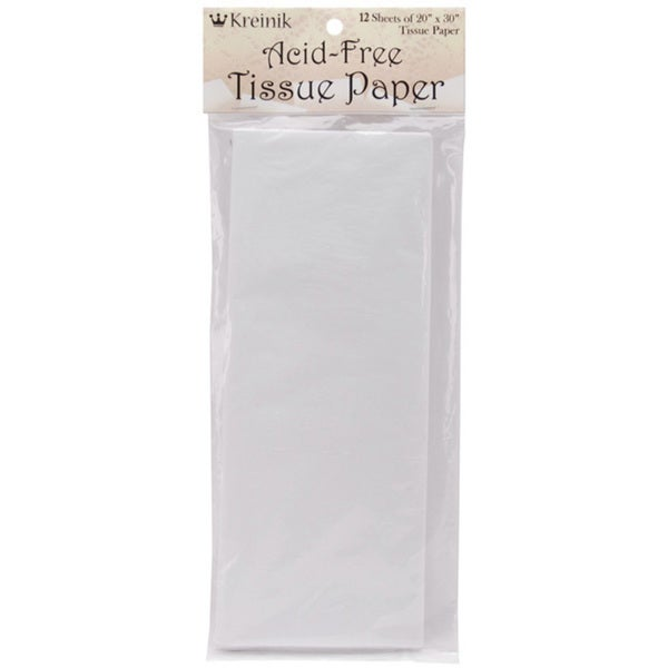 Kreinik Acid Free (20 x 30) Tissue Paper (Pack of 12)