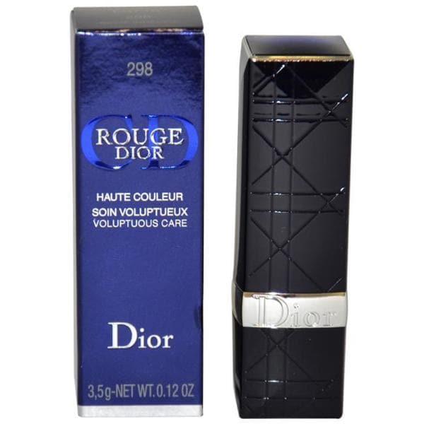 Rouge Dior Voluptuous Care #298 Beige Indecise Lipstick