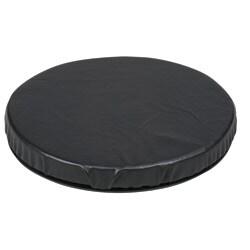 Healthsmart Black Leatherette Swivel Seat Cushion