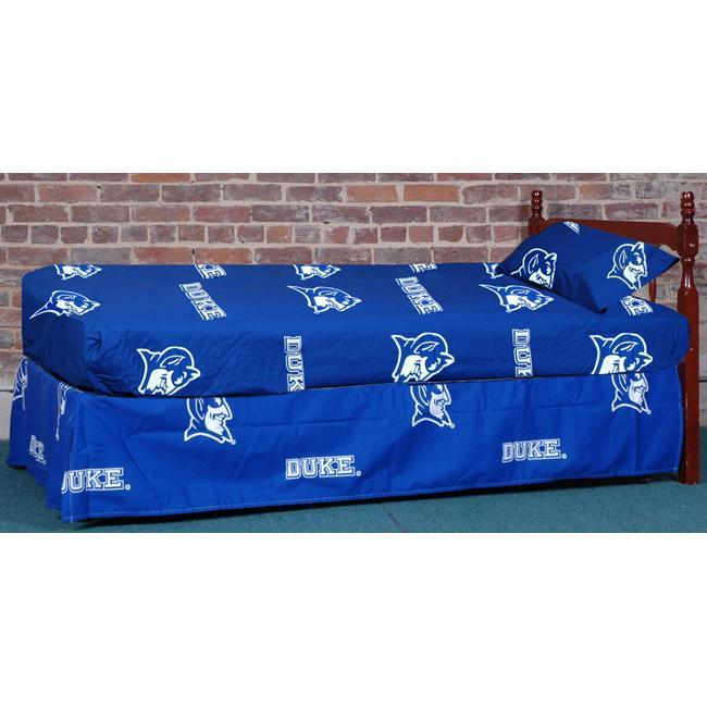 Duke University Blue Devils 200 Thread Count Sheet Set