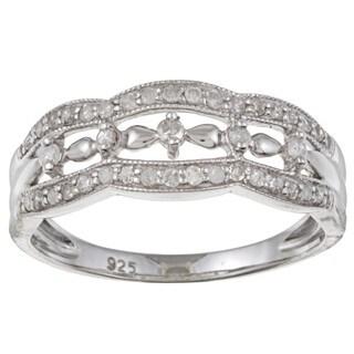 Sterling Silver 1/3ct TDW Diamond Ring (G-H, I1-I2)