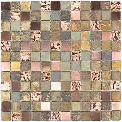 ICL Glass Earthstone Tiles (Case of 11)