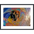 John K. Nakata 'Look Into My Eyes' Metal Framed Art Print