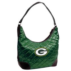 Little Earth Green Bay Packers Quilted Hobo Handbag