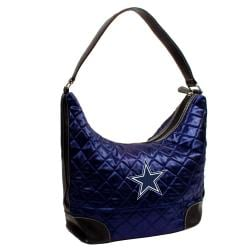 Dallas Cowboys Quilted Hobo Handbag