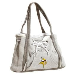 NFL-licensed Minnesota Vikings Hoodie Purse with Magnetic Closure