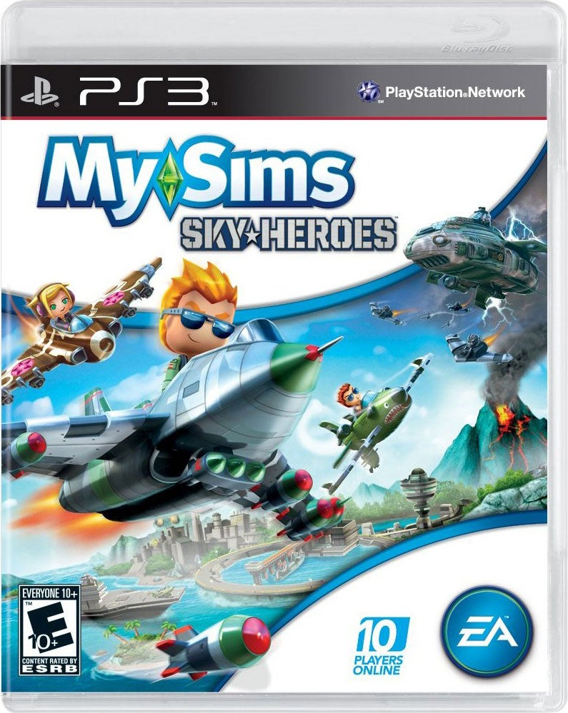 PS3 - My Sims Sky Heroes