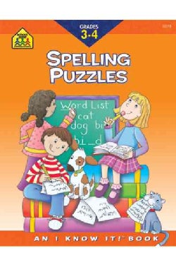 Spelling Puzzles: Grade 3-4 (Paperback)