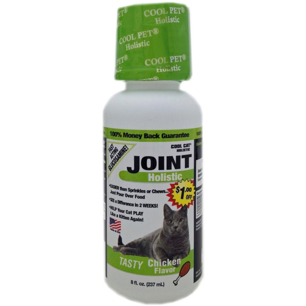 Cool Cat Holistic Joint Care - Chicken Flavor - Buy 1 Get 1 Free