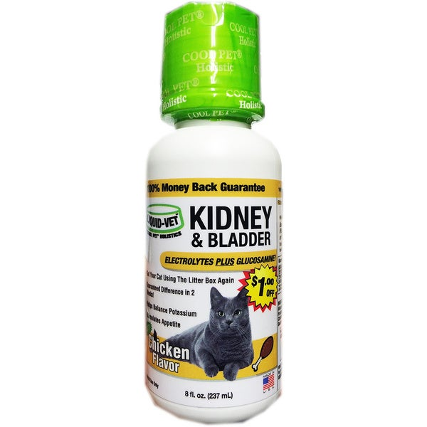 Liquid-Veta 8-ounce Chicken Kidney and Bladder Formula (2 pack)