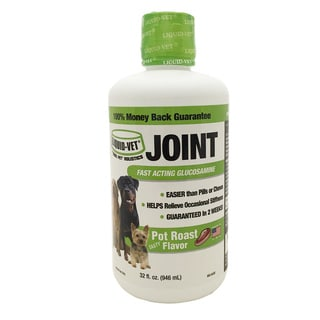 Liquid-Vet Pot Roast Flavor Holistic Joint Formula - 32-ounce Economy Size