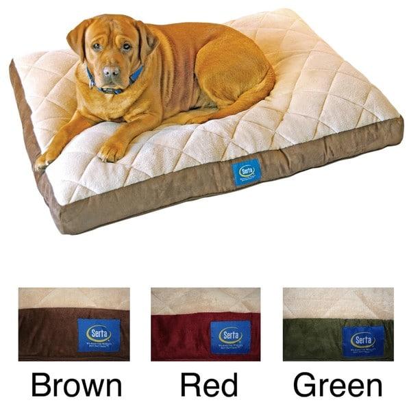serta pillow top dog bed 3