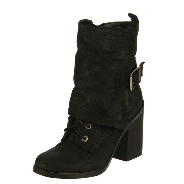 Fergie Women's 'Major' Short Leather Boots FINAL SALE