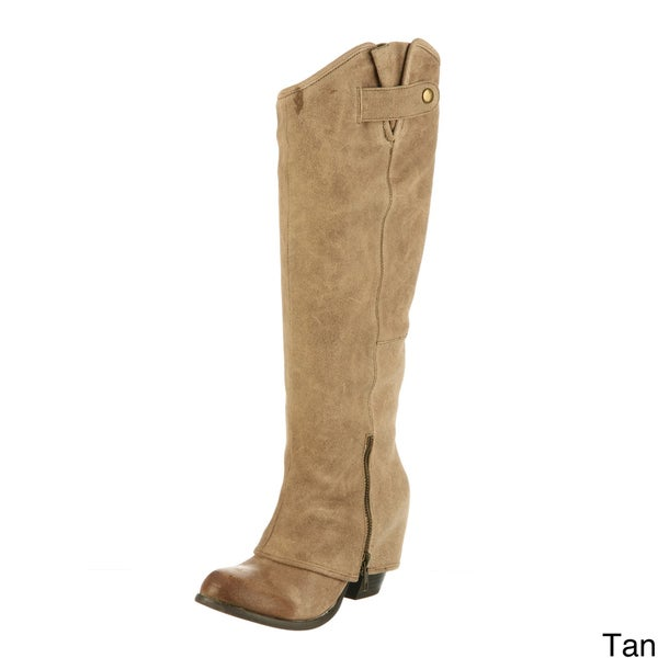 Fergie Women's 'Ledger Too' Leather Boots