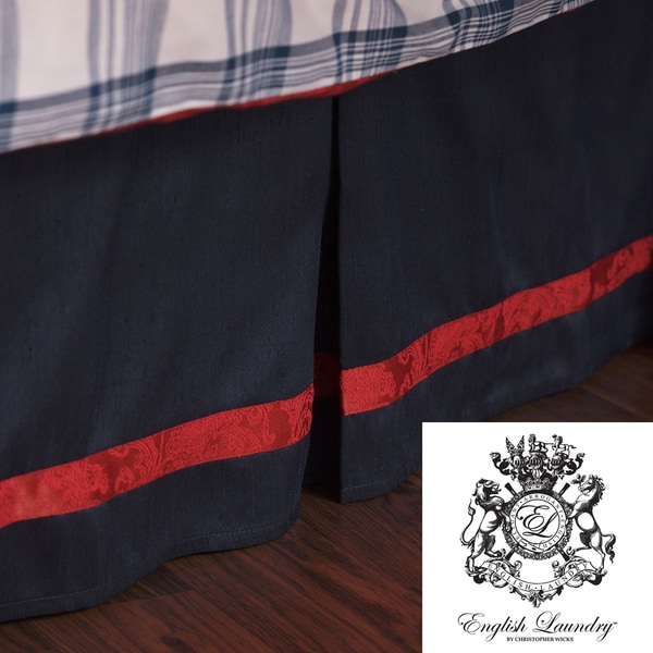 English Laundry Stock Port King/ California King-size Bedskirt