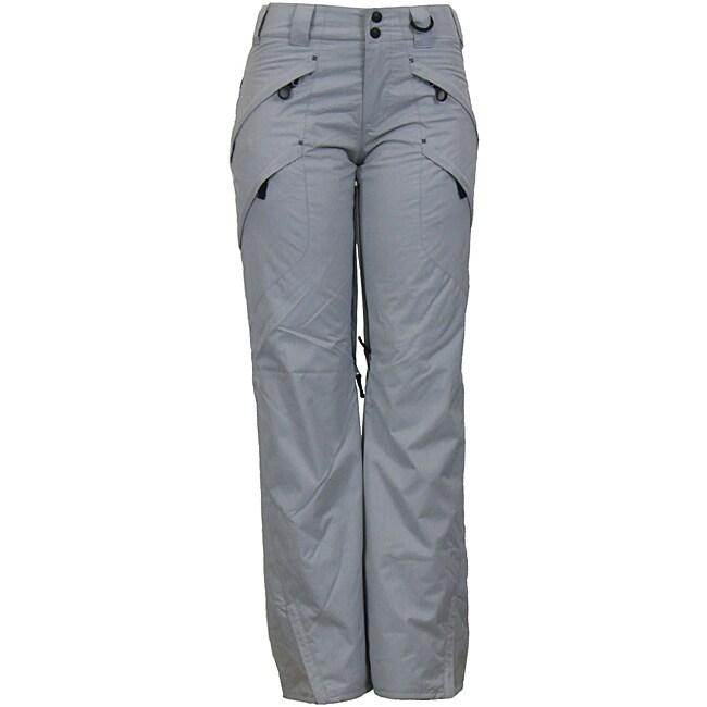 Boulder Gear Women's Silver Cargo Snowboard Pants