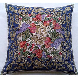 Corona Decor Italian-Woven Harvest Decorative Throw Pillow