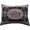 Corona Decor Italian-woven 34in.x 22in. Floral Decorative Pillow