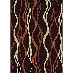 Brilliance Abstract Olefin Area Rug (7'9 x 11')