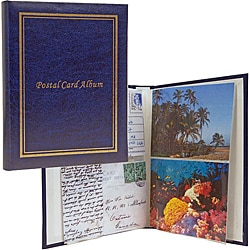 Plastic 40-page 80-sleeve Post Card and Photo Organizer Album